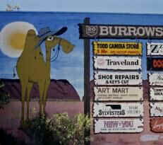 Sign in Alice Springs, Northern Territory